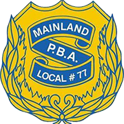 Mainland PBA Local #77 Logo